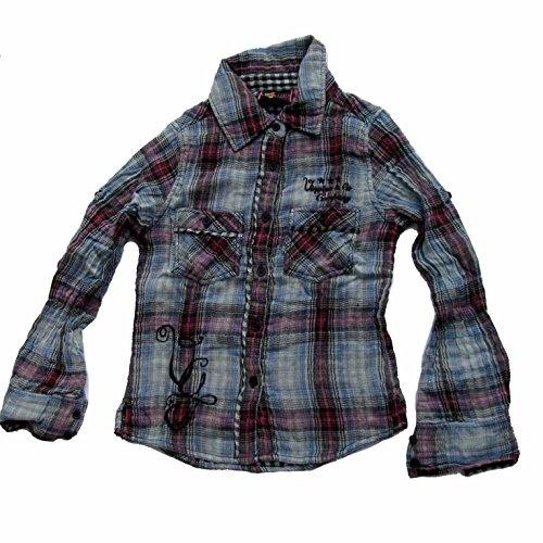 Sommer Damen Kurzarm Kariertes Plaid Tartan Tunic Lose Baggy Tops Bluse T Shirt