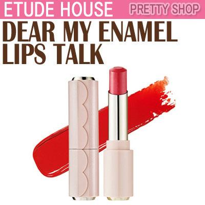 qoo10 etude house enamel dear my enamel lips talk. Black Bedroom Furniture Sets. Home Design Ideas
