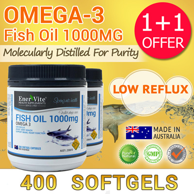 Qoo10 1 1 enervite low reflux omega 3 fish oil 1000mg for Oily fish list