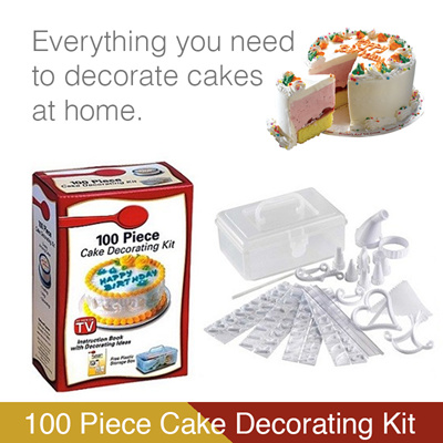 Qoo10 100 pieces cake decorating diy kit baking kit for 100 piece cake decoration kit
