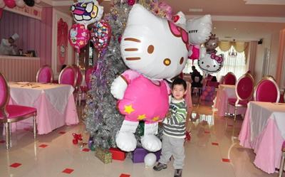 Qoo10 10pcs 11665cm large size Hello Kitty Cat foil balloons