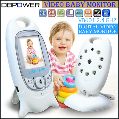 qoo10 2016 hot sales dbpower baby monitor 2 0 inch video wireless baby moni baby maternity. Black Bedroom Furniture Sets. Home Design Ideas