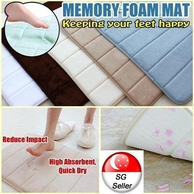 Sleep Med Memory Foam Pillow Kissen 55 x 43 x 12 cm weiß
