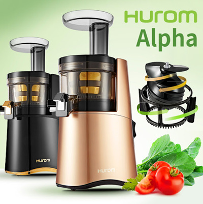 Slow Juicer Qoo10 : Qoo10 - 2016 NEW!! HUROM ALPHA Slow Juicer / H-AA-LBF17 / H-AA-BBF17 / Slow Sp... : Home Electronics