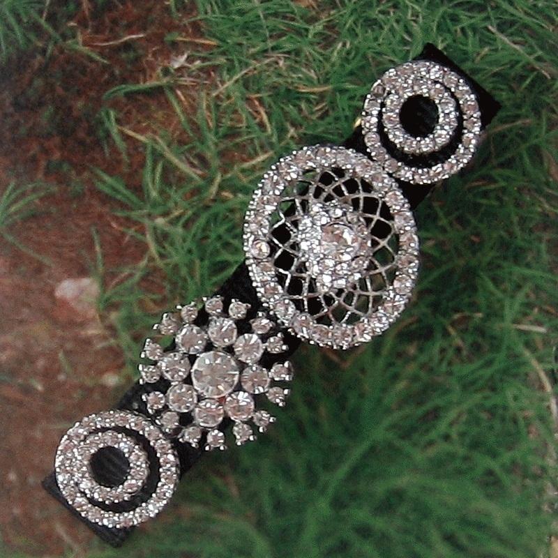 Snowflake Bridal Floral AB Rhinestone Crystal Prom Wedding Tiara Headband V626