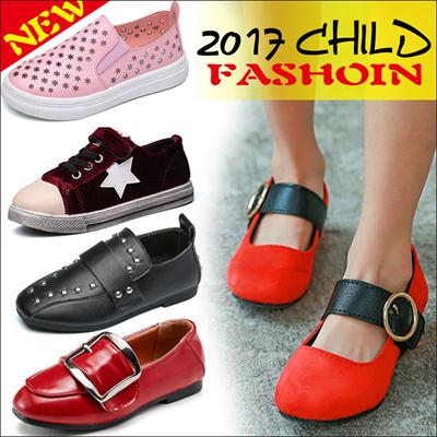 2017春夏新作\u203b韓国子供靴/kidsシューズ/人気ストラッポ靴 花