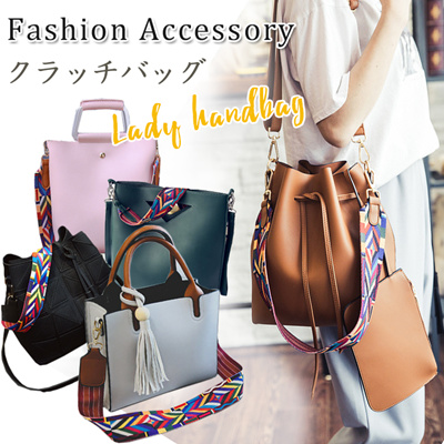 Qoo10 - 2017 Colorful Strap Shoulder Bags♥Drawstring Bucket Bag ...