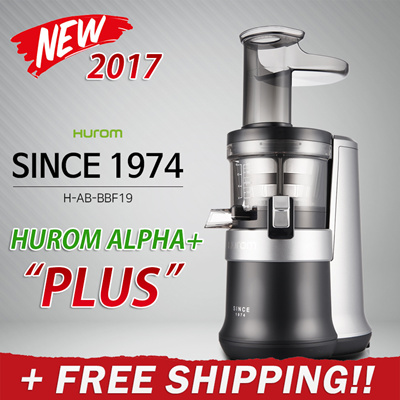 Slow Juicer Best I Test 2017 : Qoo10 - 2017 HUROM BEST Hurom Premium Slow Juicer ALPHA PLUS / ALPHA+ Smooth... : Home Electronics