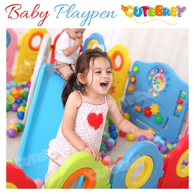 Qoo10 2017 new design baby playpen kids safety play for Baby play centre