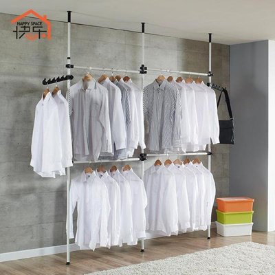 clothes hanger rack wall mounted coat new standing pole drying india