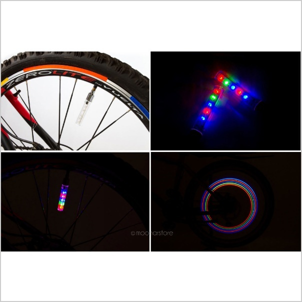 2Pcs Bicycle Bike Wheel Reflector Spoke Reflective Mount Vintage Clip Warning HV