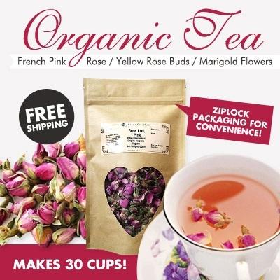 Qoo10 - 30 cups! Organic Bulgarian Pink Roses - The True Beauties ...