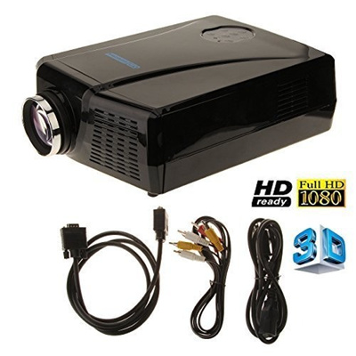 Qoo10 3000 lumens 3d lcd projector with hdmi input for Pocket projector hdmi input