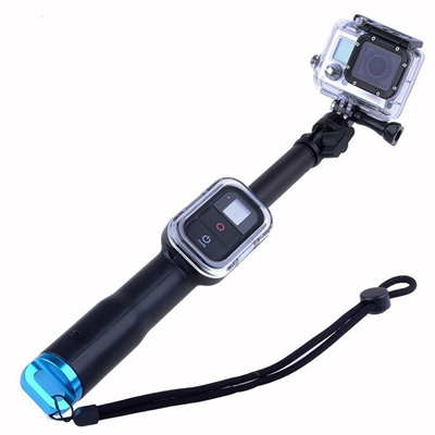 qoo10 39 inch waterproof handheld selfie stick monopod with wifi remote slot tv camera. Black Bedroom Furniture Sets. Home Design Ideas