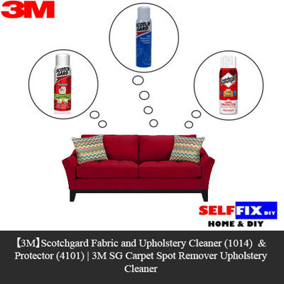 qoo10 3m scotchgard fabric and upholstery cleaner 1014 n protector 4101 stationery. Black Bedroom Furniture Sets. Home Design Ideas