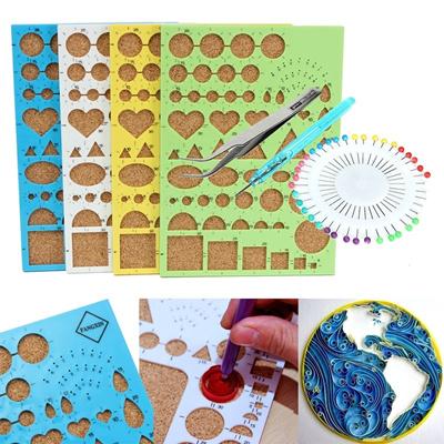 Qoo10 4pcs set paper quilling tools diy kit papercraft for Quilling kitchen set