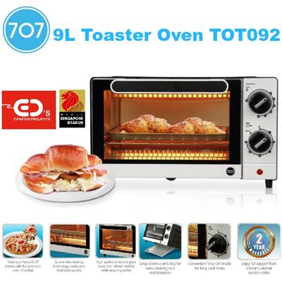 Countertop Oven Singapore : Qoo10 - 707 9L Toaster Oven - TOT092707 9L ?? ??? - TOT092 ...