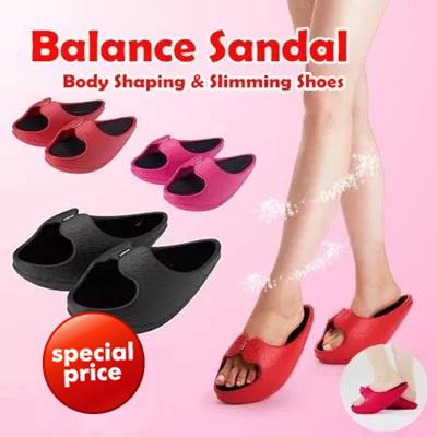 Qoo10 - [90% OFF] Balance Sandal Body Shaping Slimming ...
