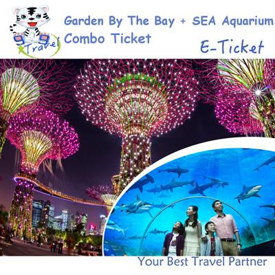 qoo10 99 travel sea aquarium sentosa gardens by the bay physical ticket 滨 leisure travel
