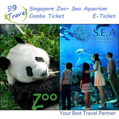 qoo10 99 travel singapore zoo with tram ride e ticket sea aquarium e t leisure travel