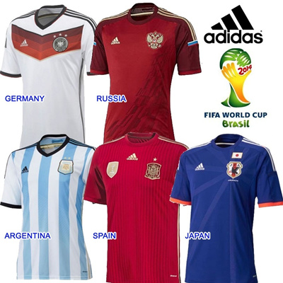 adidas germany 2014 world cup jersey
