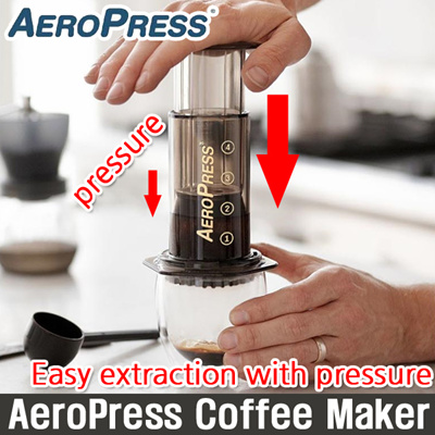 Qoo10 - [Aerobie] AeroPress Coffee Maker / Espresso latte Maker / Vacuum compr... : Kitchen & Dining