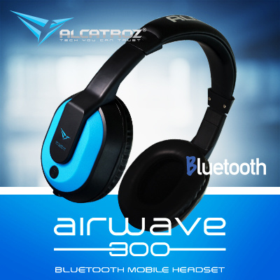 qoo10 alcatroz airwave 300 bluetooth headset support hsp hfp a2dp avrcp re mobile devices. Black Bedroom Furniture Sets. Home Design Ideas