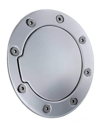 All Sales 6052P Polished Billet Aluminum Fuel Door