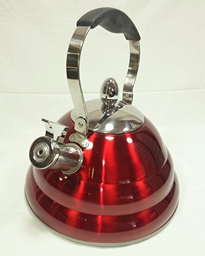 Qoo10 alpine cuisine red whistling tea kettle 3 liter for Alpine cuisine tea kettle