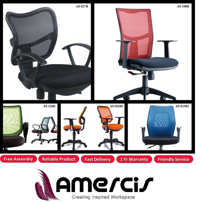 qoo10 amercis office furniture specialist ergonomic office chair suitable furniture deco