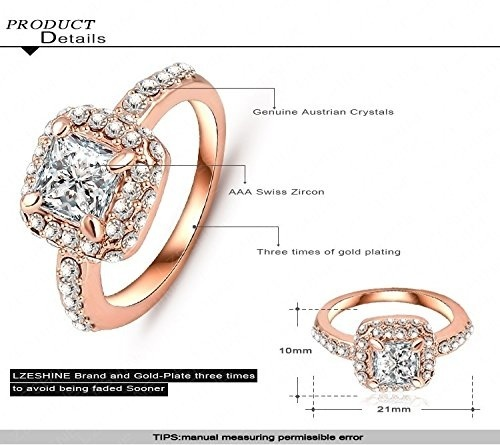 3 Row Austrian Crystal Rhinestone Puffed Heart Stretch Ring Gold gep Silver gep
