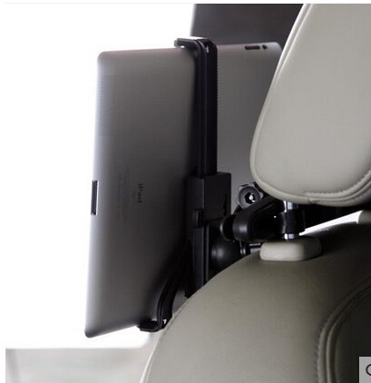 Car Backrest Bracket Backseat Mobile Phone Tablet Computer Bracket On-Board Back Bracket Creative Lazy Bracket FOXI White