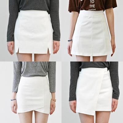 qoo10 assorted skirts basic korean skirt a line skirts