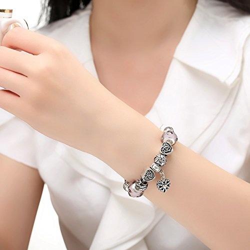 8 Silvertone Ice Cream Cone Faith Infinity Toggle Chain Bracelet