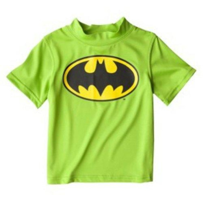 Qoo10 batman toddler boys rash guard shirt kids fashion for Baby rash guard shirt