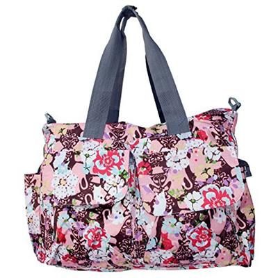 qoo10 bebear bebamour original floral designer diaper tote bags bag. Black Bedroom Furniture Sets. Home Design Ideas