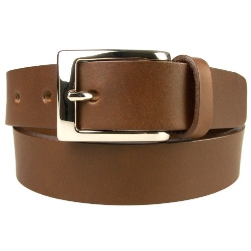 uxcell Women Imitation Leather Buffing Edge Metal Pin Buckle Belt 1 1//8 Inches