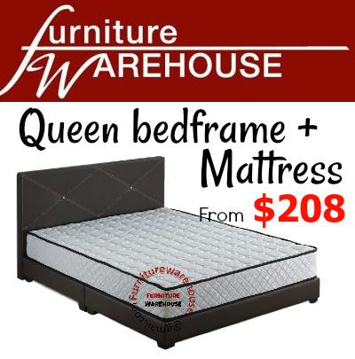 Qoo10 Best Price Queen Size Bedframe Mattress Furniture Warehouse Furniture Deco