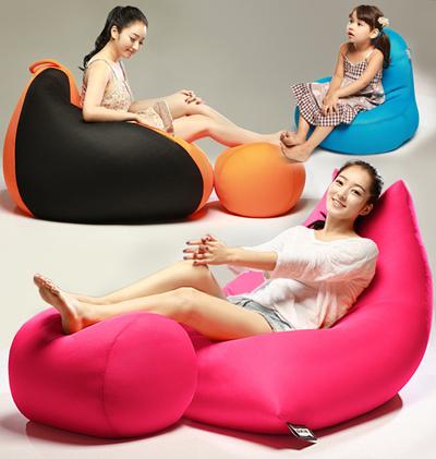 BIG CHANCE Sofa BeanBag Premium Quality P202/C207/KOMI From