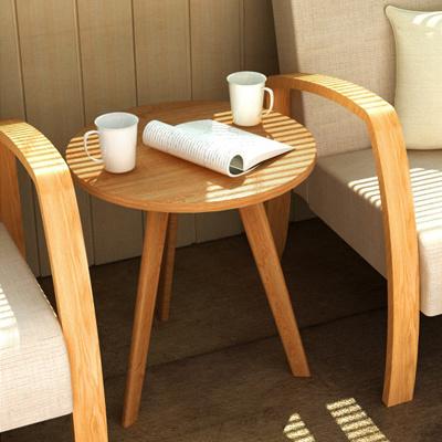 Qoo10 Birch Round Table Tea Table Furniture Sofa