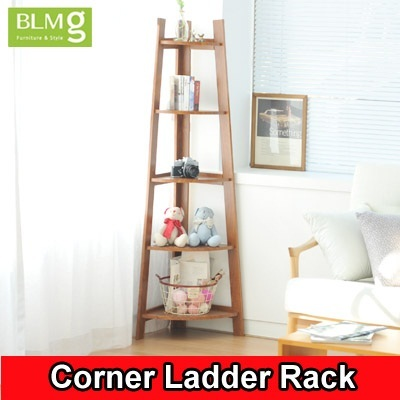 qoo10 blmg sg corner ladder rack sale home deco furniture singapore cheap furniture deco