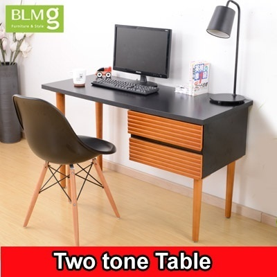 Qoo10 Blmg Sg Two Tone Design Desk Student Desk Furniture Local Delivery T Furniture Deco