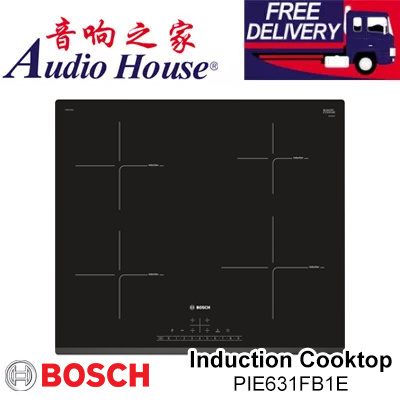 Qoo10 bosch 60cm induction cooktop pie631fb1e 4 for Table induction bosch