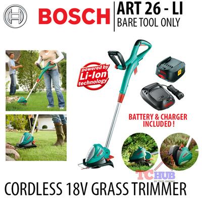 qoo10 bosch art 26 li cordless 18v grass trimmer come. Black Bedroom Furniture Sets. Home Design Ideas