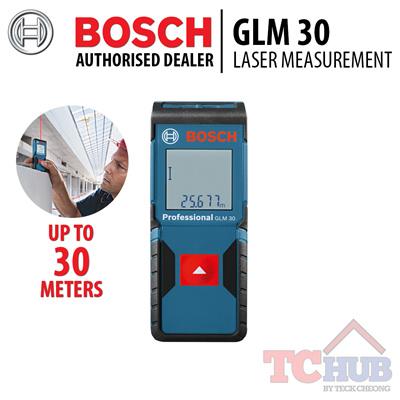 qoo10 bosch glm 30 laser measurement most compact blue. Black Bedroom Furniture Sets. Home Design Ideas