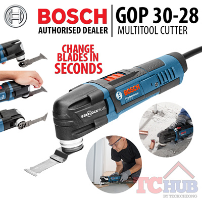 qoo10 bosch gop 30 28 multi cutter change blade within seconds magnetic inte tools. Black Bedroom Furniture Sets. Home Design Ideas