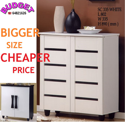 Qoo10 budget furniture shoe cabinet wooden furniture Budget furniture