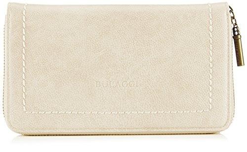 Black Leather Wallet with Blue Stripe Design XLW003