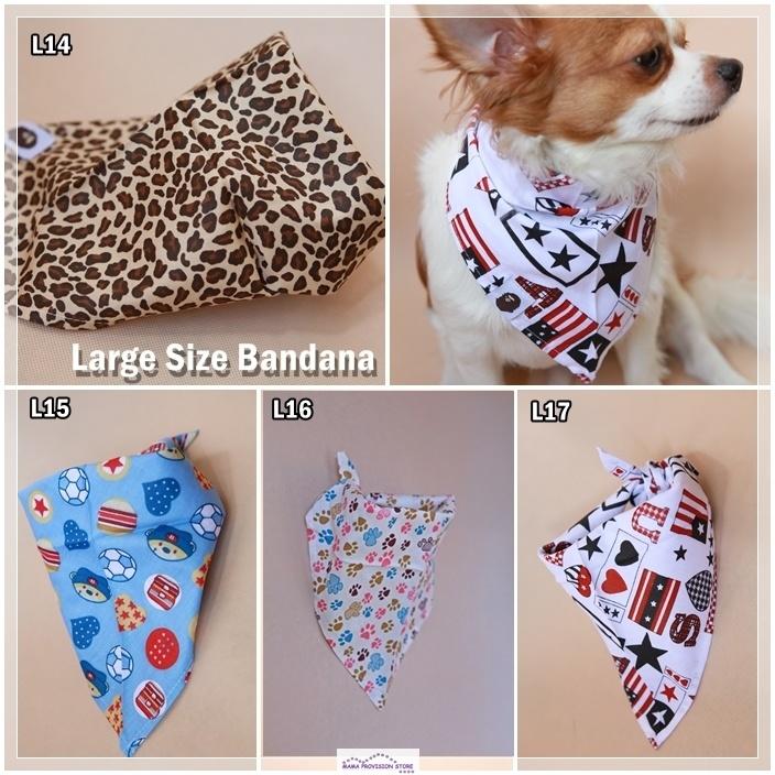 Vouge Adjustable Pet Dog Puppy Cat Neck Scarf Bandana with Collar Neckerchief P1