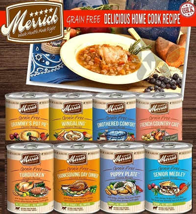 Qoo10 can dog food by merrick super delicious KK is